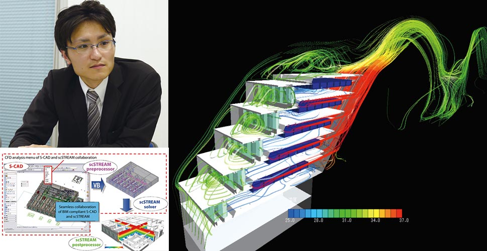 Using the Most of CFD Analysis by Efficient Cooperation with BIM - SHINRYO CORPORATION